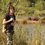 teresa and the hippos