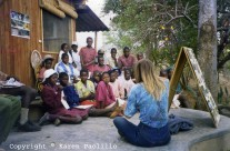 Karen Paolillo Interview with 'Safaritalk' – Nov 2010