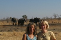 Sep. 2012 – Suzie and Doug in Zimbabwe