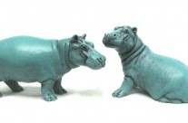 New Turgwe Hippo Trust merchandise, BonBon and Maxie ornament