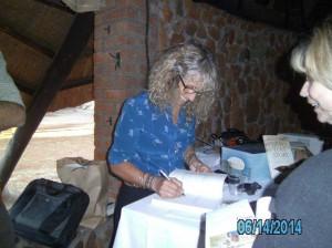 WEZ-karen-signing-her-book