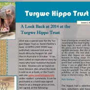 A Look Back 2014 at Turgwe Hippo Trust