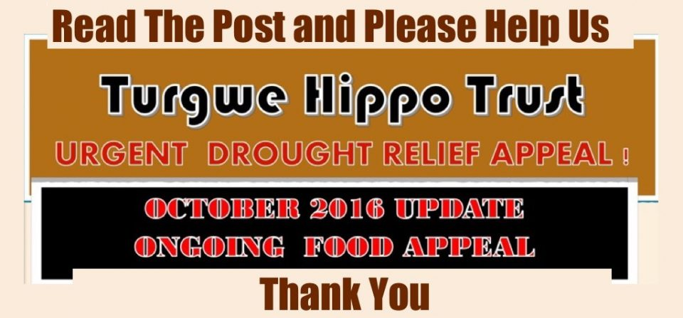 Urgent Drought Relief Appeal – October 2016 Update