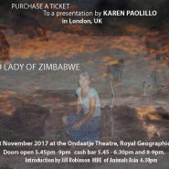 The Hippo Lady of Zimbabwe at Ondaatje Theatre in LONDON, Nov 21st, 2017