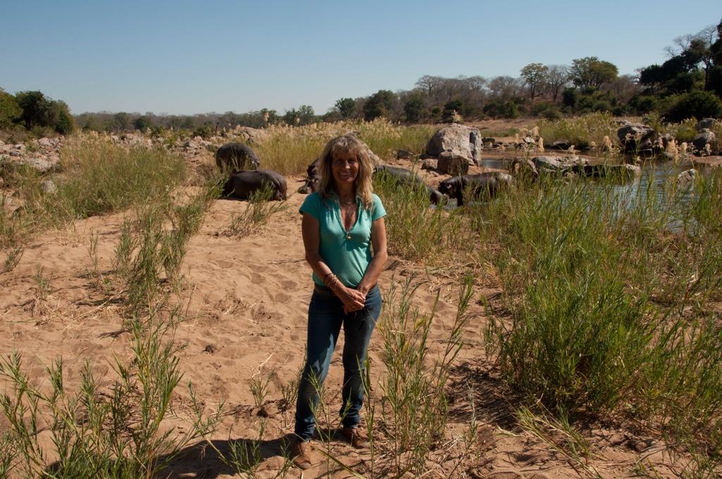 Karen Paolillo – founder of Turgwe Hippo Trust