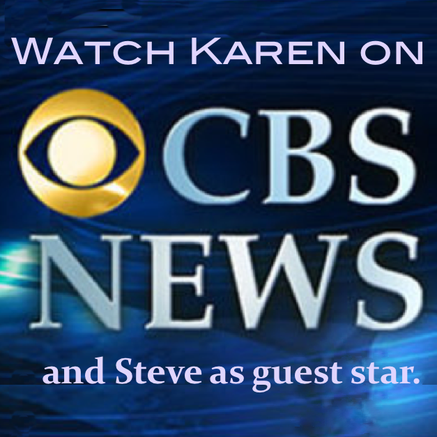Karen Hosted at CBS-Evening News